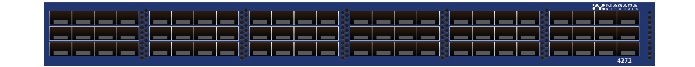 High Density 72 1/10Gb port Packet Broker  Fixed Broker product line, consisting of 1U high density high performance packet brokers